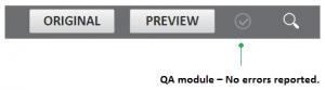 MateCat QA module