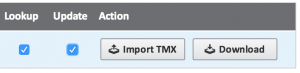 Import TMX in Matecat
