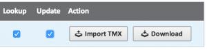 Import TMX in Matecat
